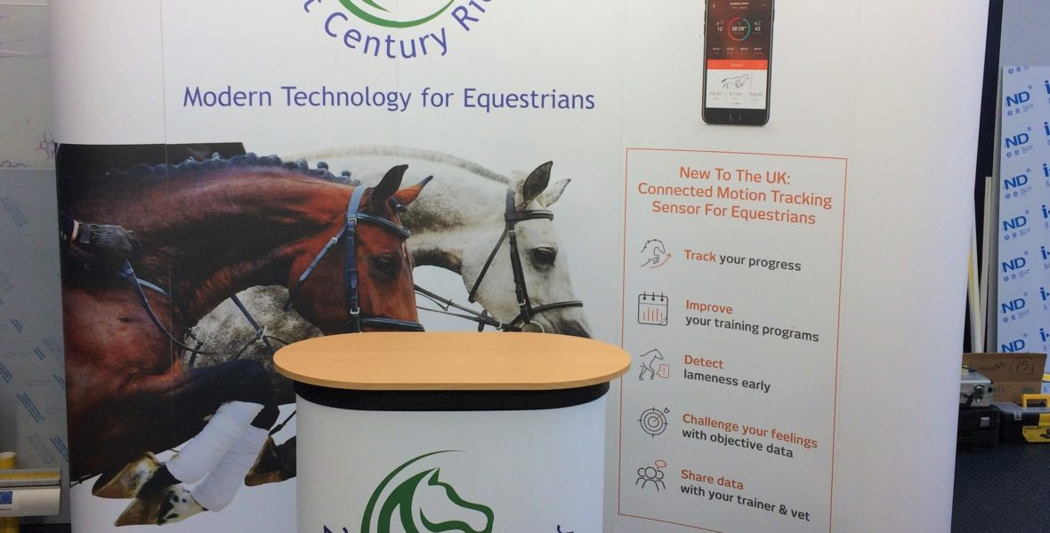 21st Century Rider Freestanding Show Banners