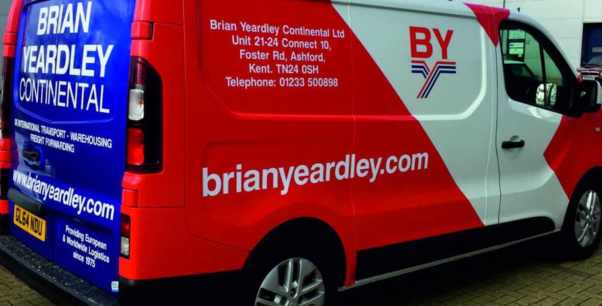 Brian Yeardley Van Vinyl Wrap