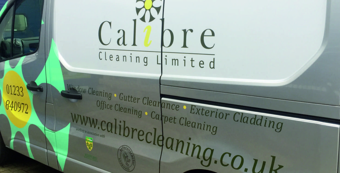Calibre Cleaning Vehicle Wrap