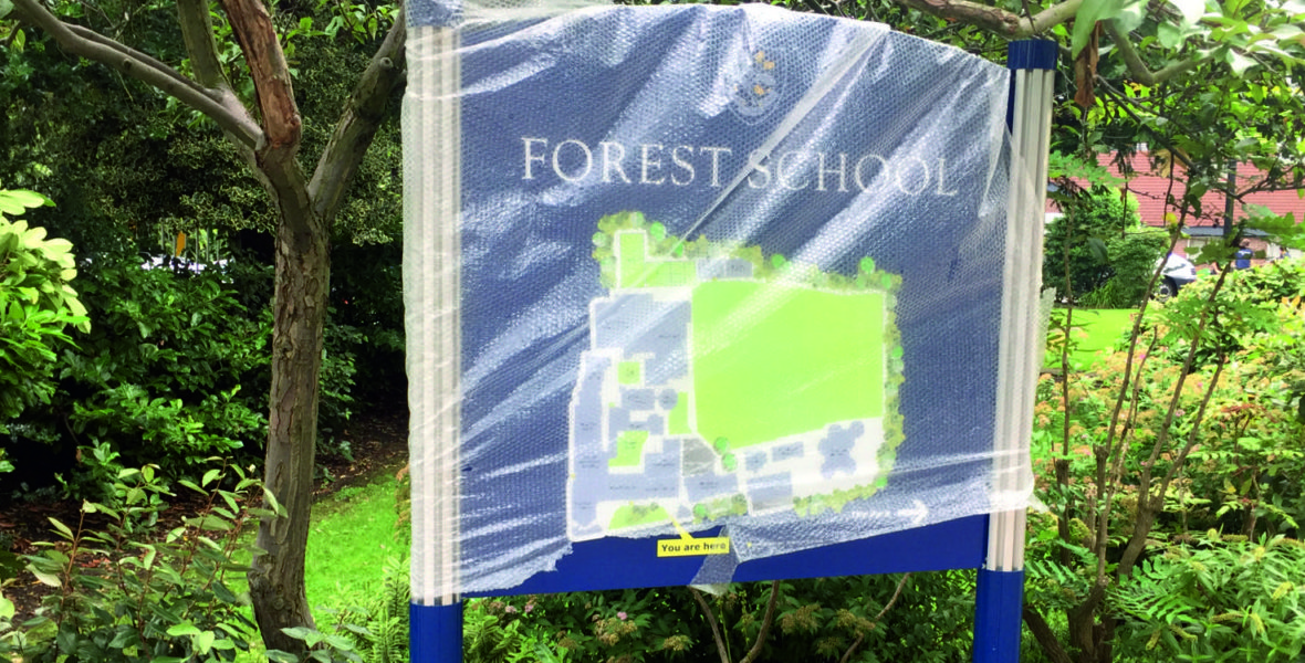 Forest School Window Signs