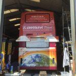 Crosskeys Travel Bus Vinyl Wrap
