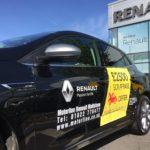 Renault Vehicle Signage