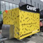 Canvas Food Van Signage