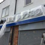 Shop Sign in Bexley Kent