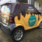 Bubble Waffles Vehicle Wrap
