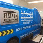 Fixings Warehouse Signage