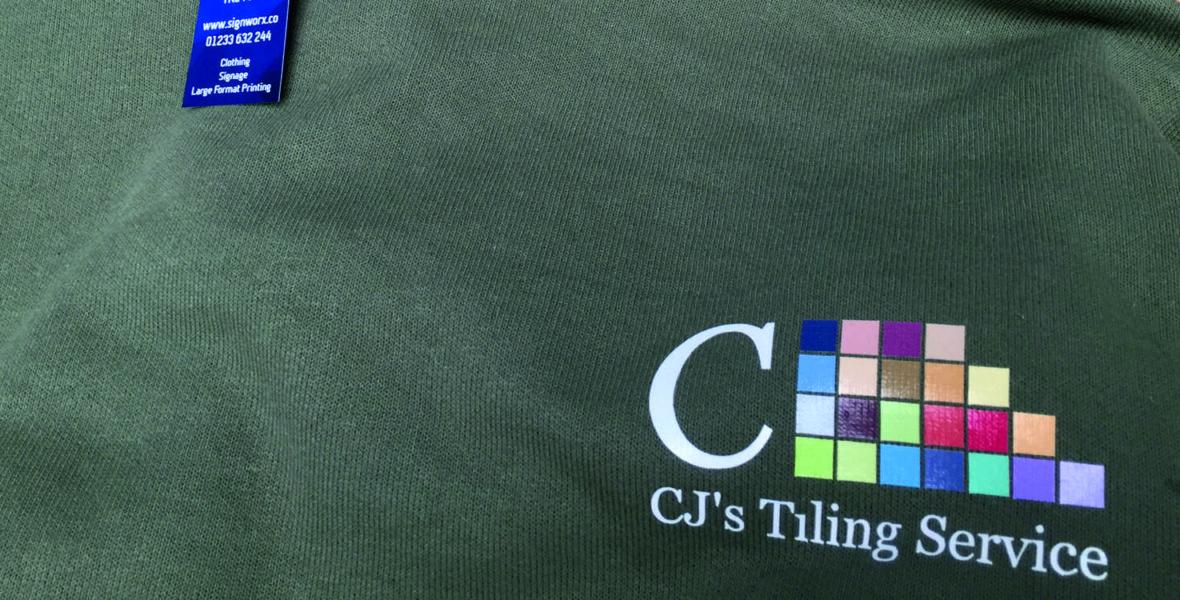 CJ'S Tiling Workwear