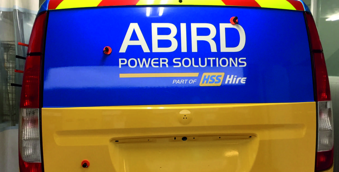 A Bird Vehicle Signage