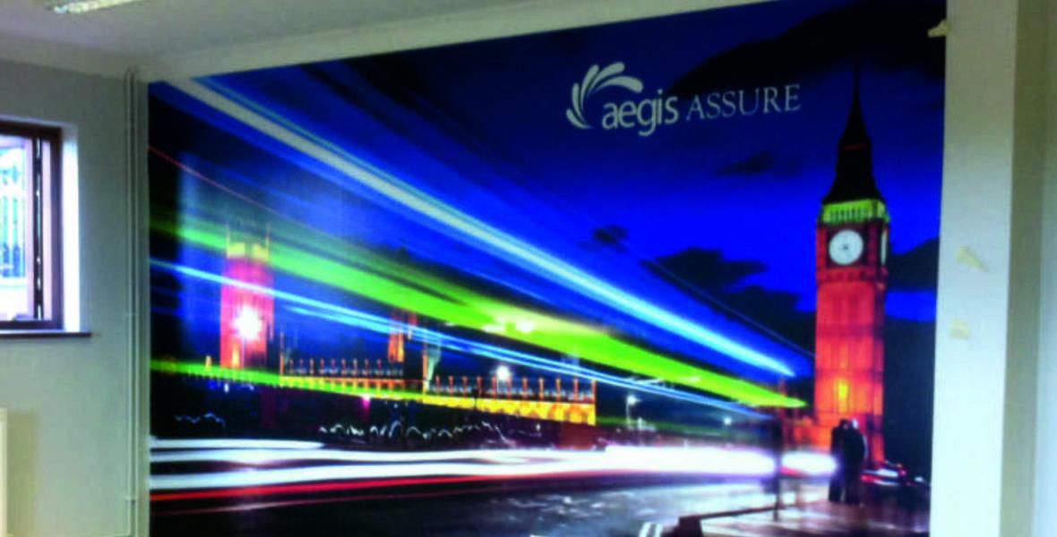 Aegis Wall Signage