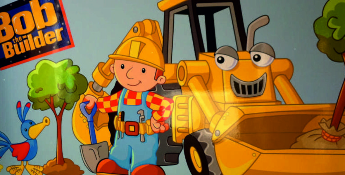 Bob The Builder Wall Signage