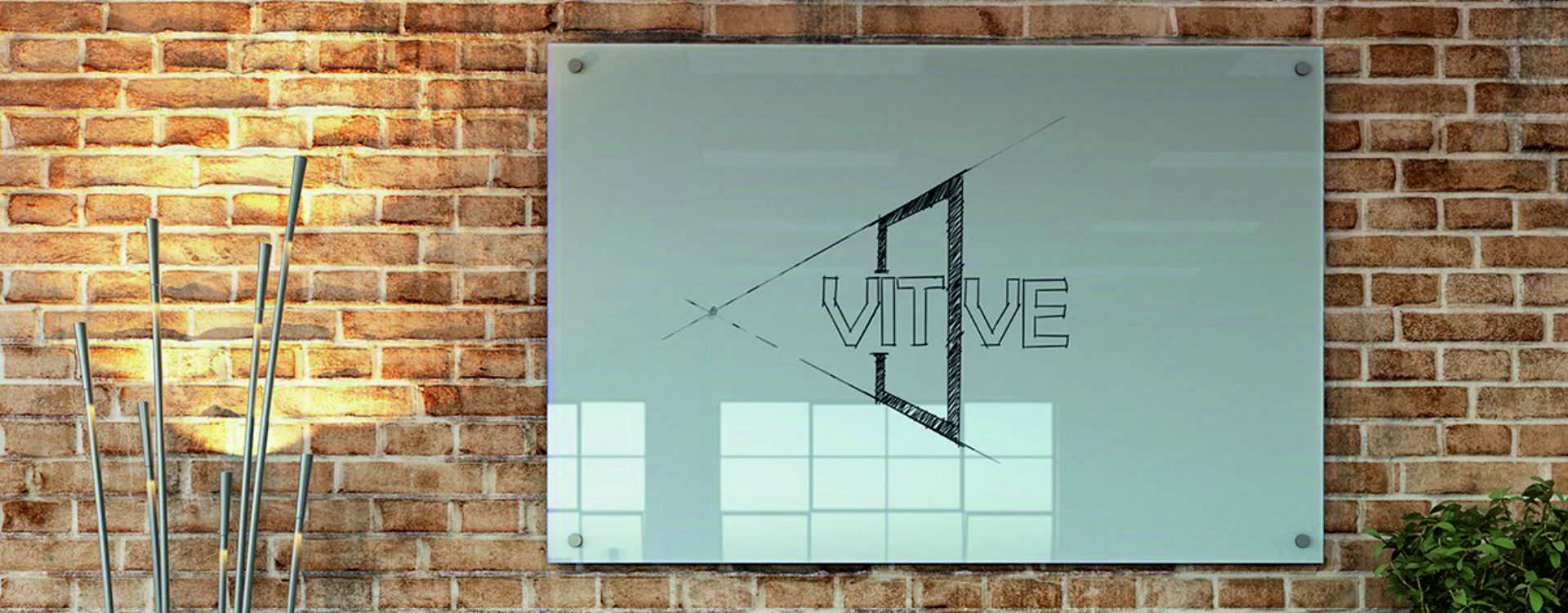 glassboard sign