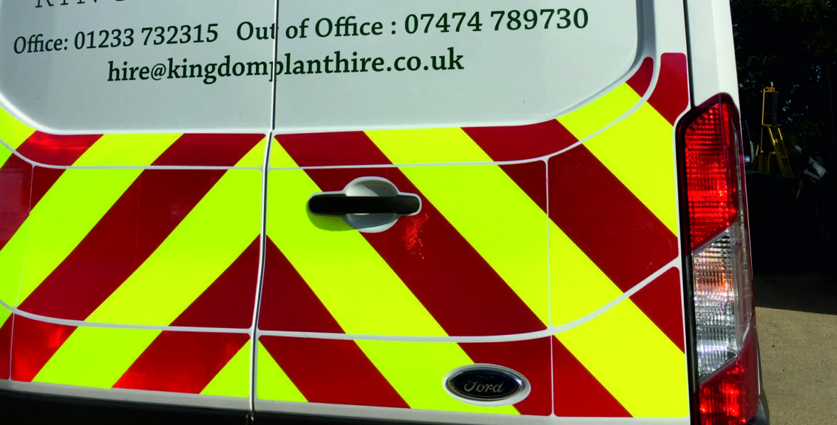 Kingdom Plant Hire Vinyl Wrap