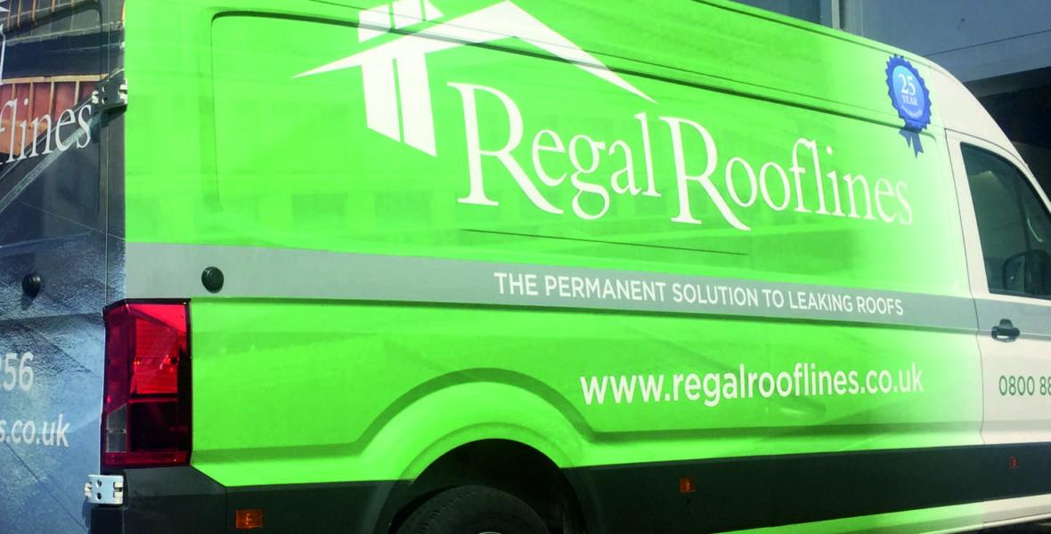 Regal Rooflines Van Wrap