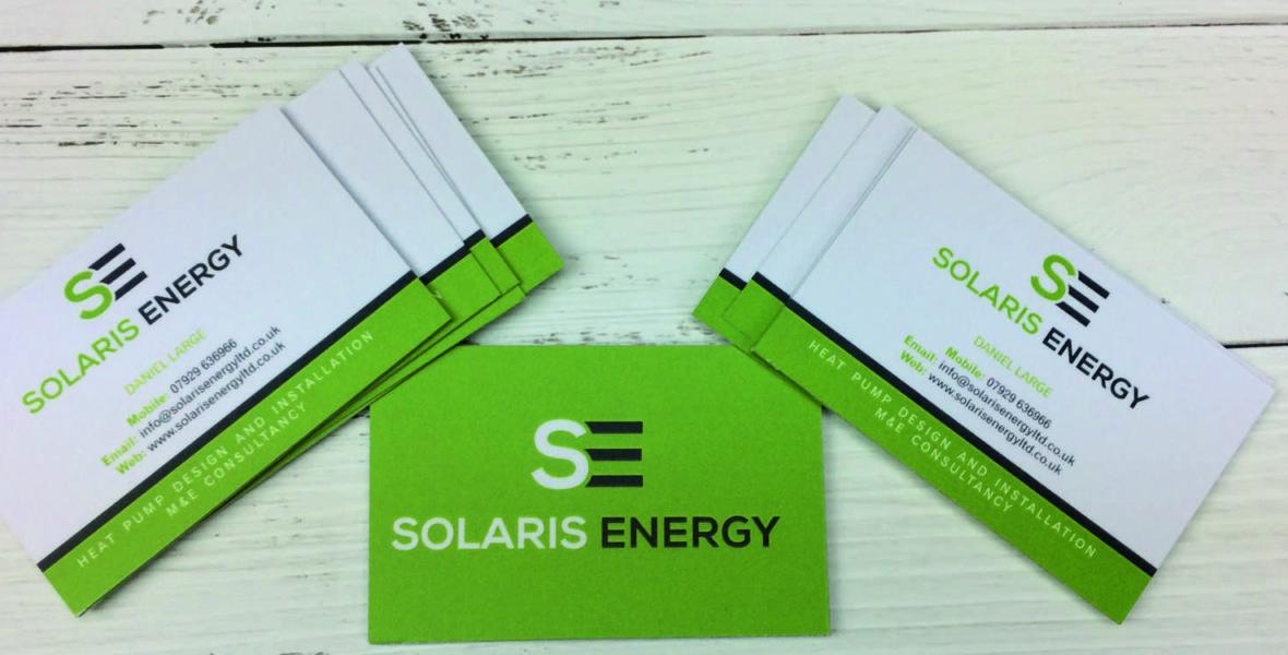 solaris business cards