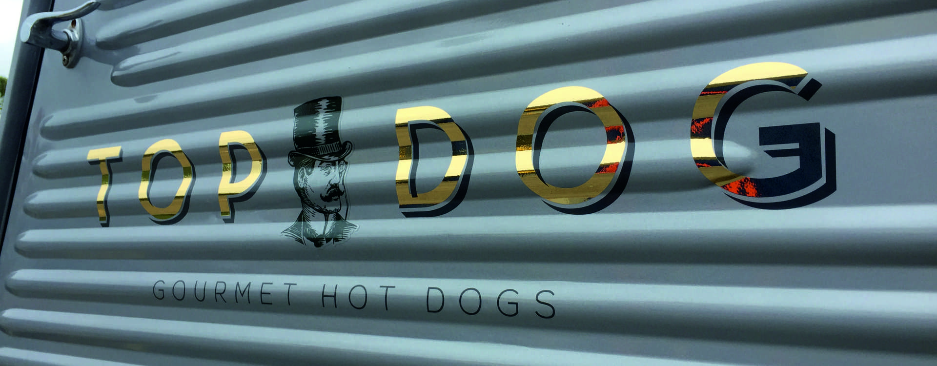 Top Dog Hot Dogs Vehicle Signage